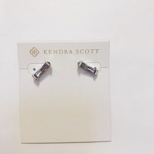 Kendra Scott Fletcher Earrings in Lilac Crystal